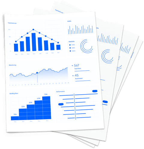 Evaluate testing results and provide reports