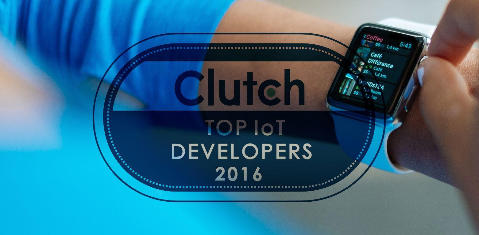 ELEKS Among Top IoT Development Companies Matrix by Clutch