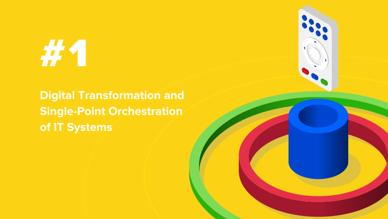 Digital Transformation and Single-Point Orchestration of IT Systems