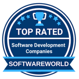 Top rated software development company by SoftwareWorld